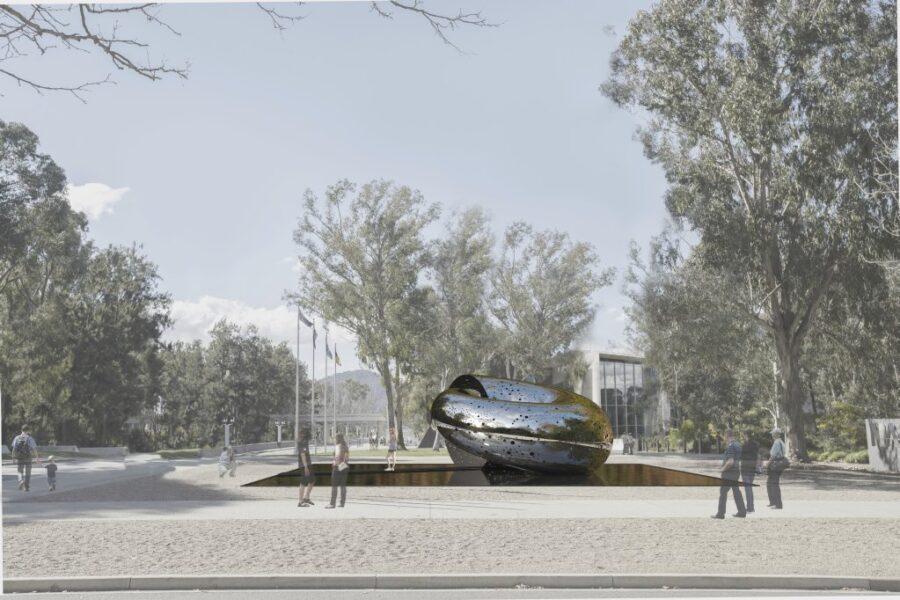 Национальная галерея Австралии заказала скульптуру стоимостью $10 млн.