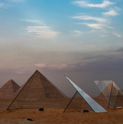 На плато Гиза стартовала Биеннале современного искусства