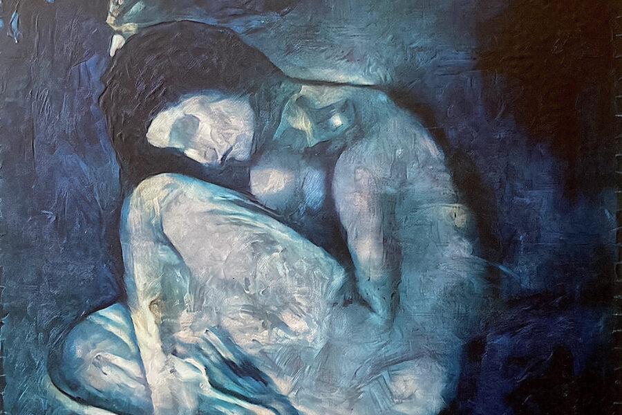 Скрытое под картиной Пикассо изображение воссоздали с помощью нейросети